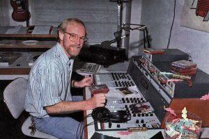 Ferry Maat in studio 3