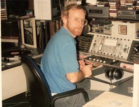 Ferry Maat in studio 4